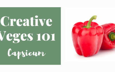 Creative Veges 101 – Capsicum