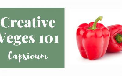Creative Veges 101 – Capsicum