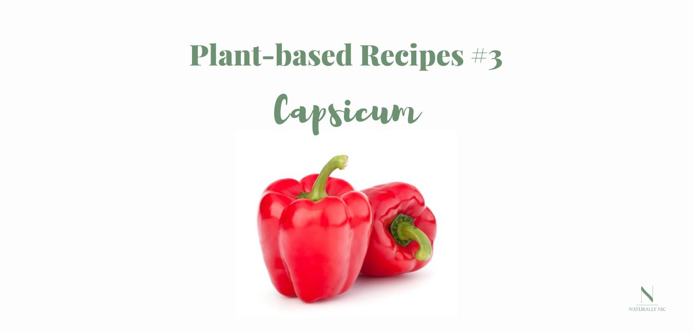 plant based recipes capsicum