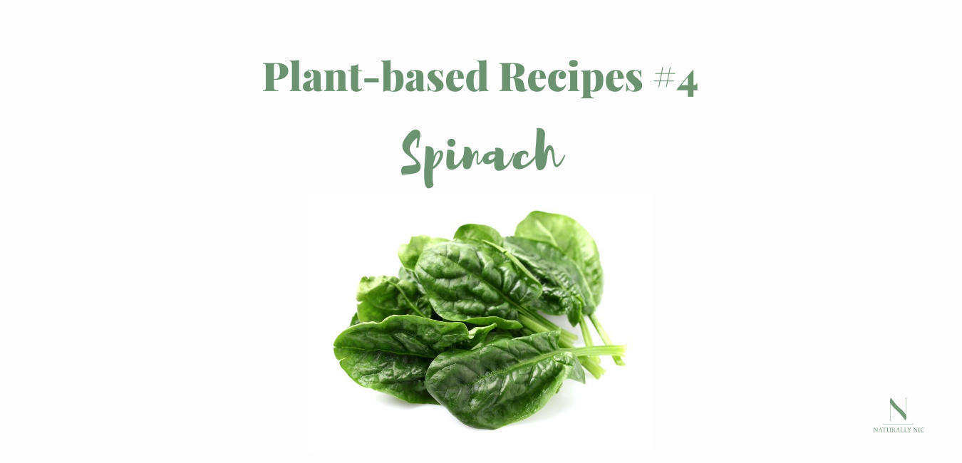 plant based recipes spinach