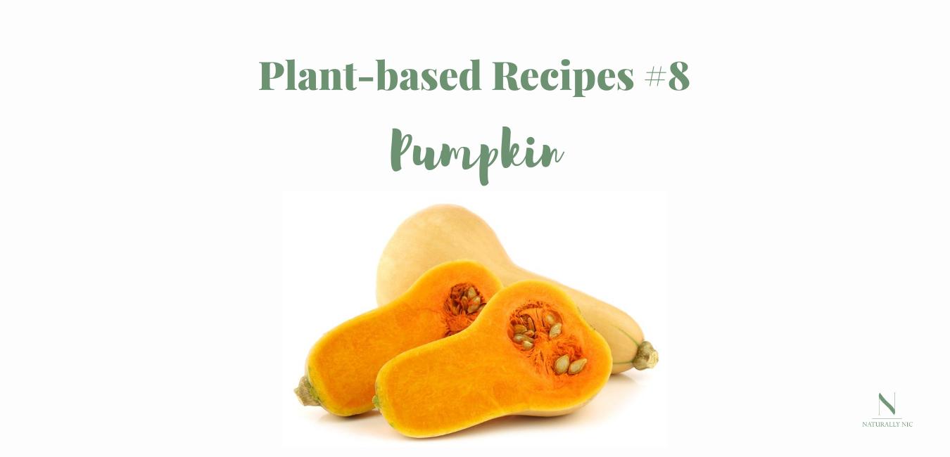 plant based recipes pumpkin